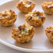 Bacon Cheddar Bites - super simple appetizer!