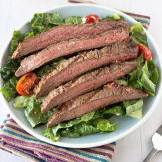 Easy Grilled Steak Salad