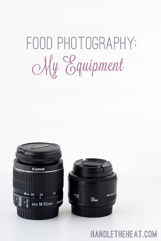 Food Photography: My Equipment - Handle the Heat