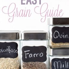 Easy Grain Cooking Guide