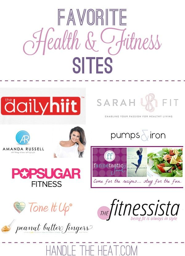 Favorite Health and Fitness Sites