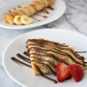 How to Make Crepes with a step-by-step video!