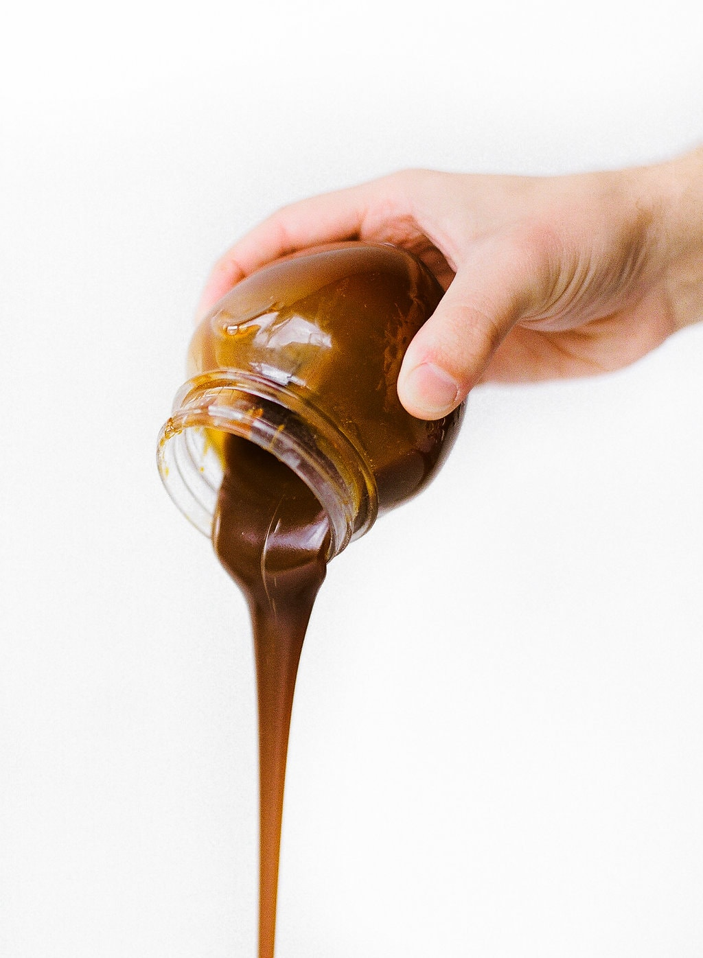 How to Make salted caramel sauce WITHOUT a thermometer or any special equipment. Takes just 15 minutes and is SO much better than store-bought. Follow the video to see exactly how it's made.