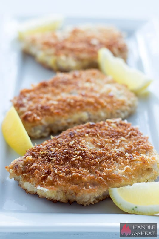 Parmesan Breaded Pork - SO crispy!