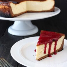 How to Make Perfect New York Cheesecake