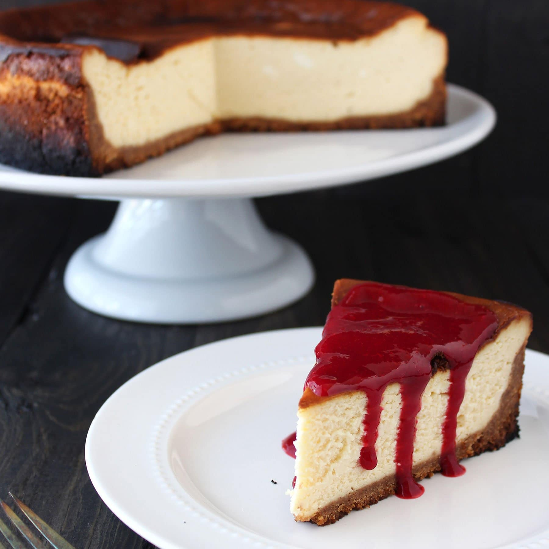 Step Cheese Cake Recipe