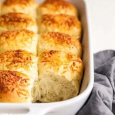 Garlic, Herb, and Cheese Bread Rolls