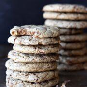 Brown Sugar Toffee Cookies