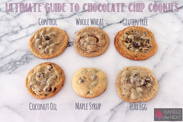 Ultimate Guide to Chocolate Chip Cookies Part 3 - shows how dietary restriction ingredients affect cookies!