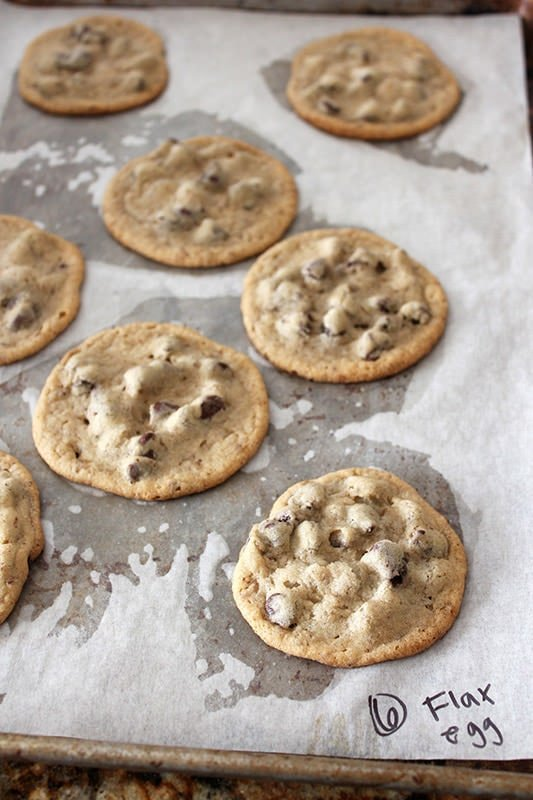 Ultimate Guide to Chocolate Chip Cookies Part 3 - Flax Egg