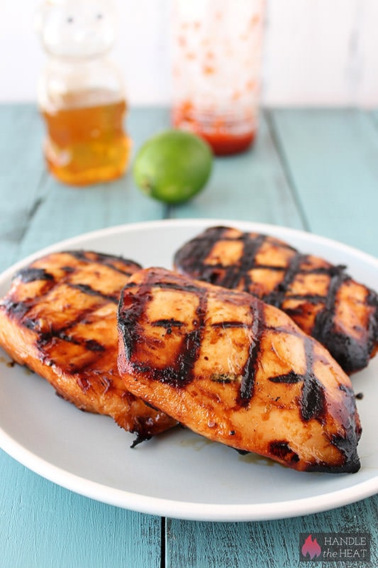 Honey Lime Sriracha Chicken - so easy and flavorful!