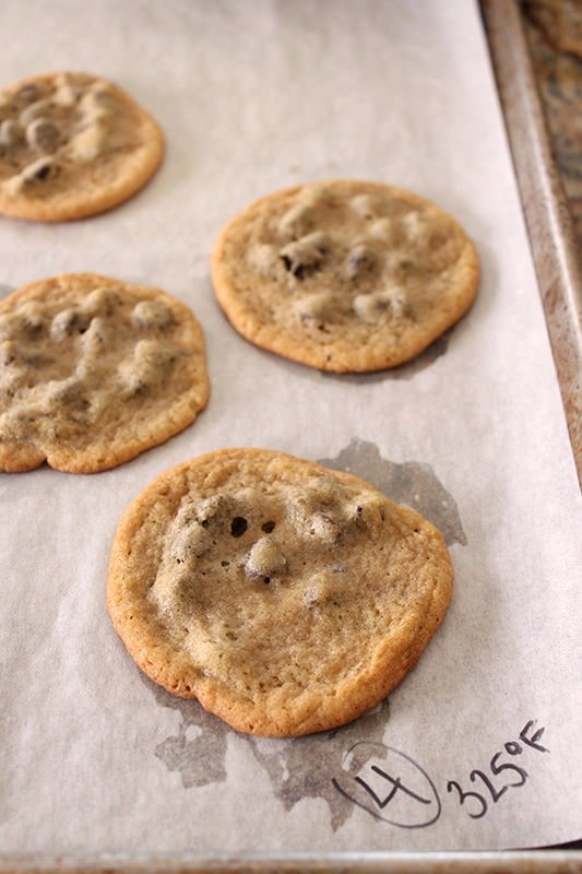 Ultimate Guide to Chocolate Chip Cookies Part 4 - 325°F