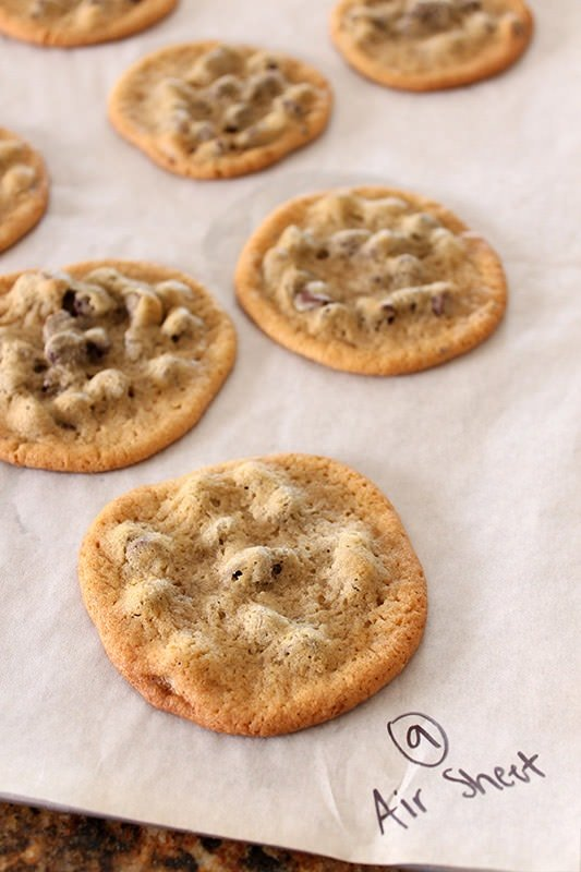 Ultimate Guide to Chocolate Chip Cookies Part 4 - Air Baking Sheet