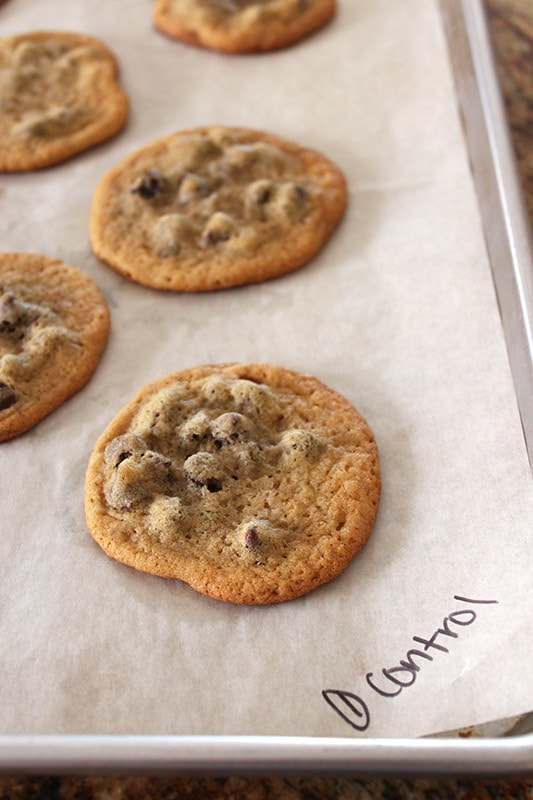 Ultimate Guide to Chocolate Chip Cookies Part 4 - Control