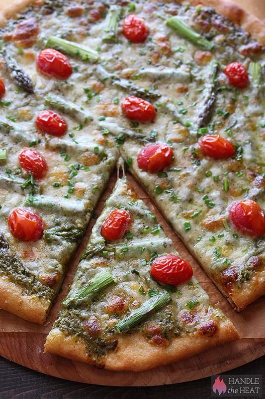 Whole Wheat Spring Pizza Recipe