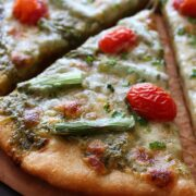 Whole Wheat Spring Pizza