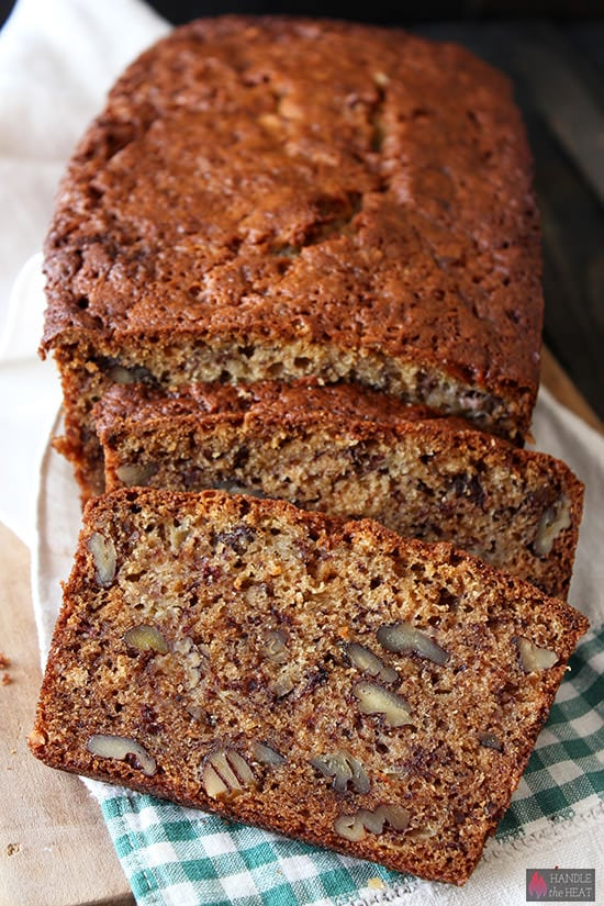 Butter Pecan Banana Bread Recipe
