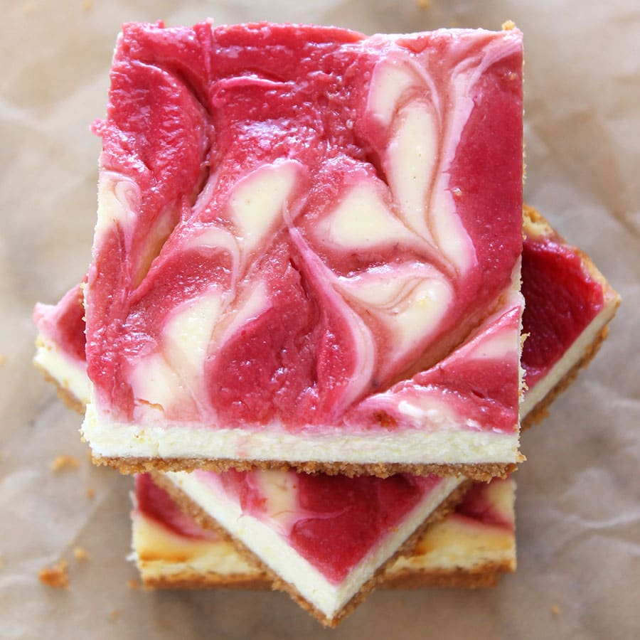 Raspberry Lemonade Cheesecake Bars