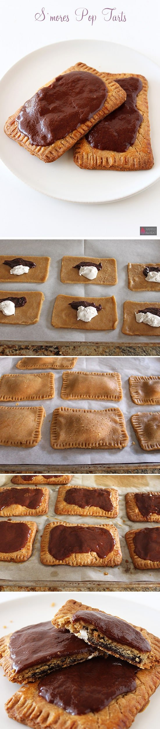 Homemade S'mores Pop Tarts - Handle the Heat