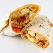Freezer Breakfast Burritos Recipe