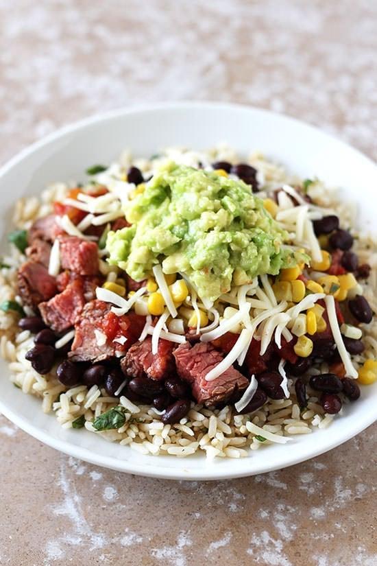 Copycat Steak Burrito Bowl Recipe