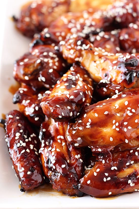 dishmaps honey baked pistachio wings recipes dishmaps honey honey ...