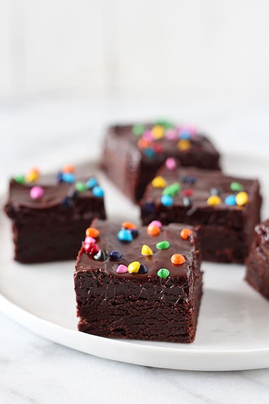 Homemade Cosmic Brownies Recipe
