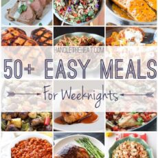 50+ Easy Meals