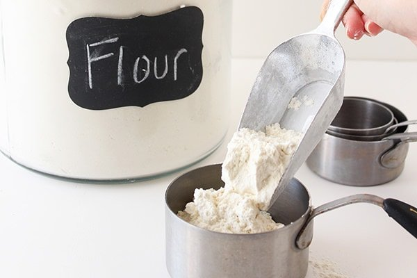 Flour in Cookie Baking