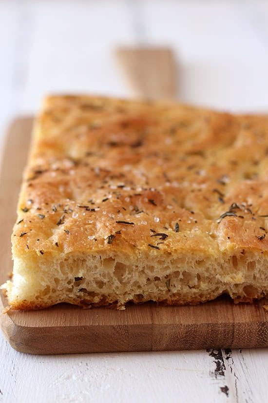 Focaccia Bread - Handle the Heat