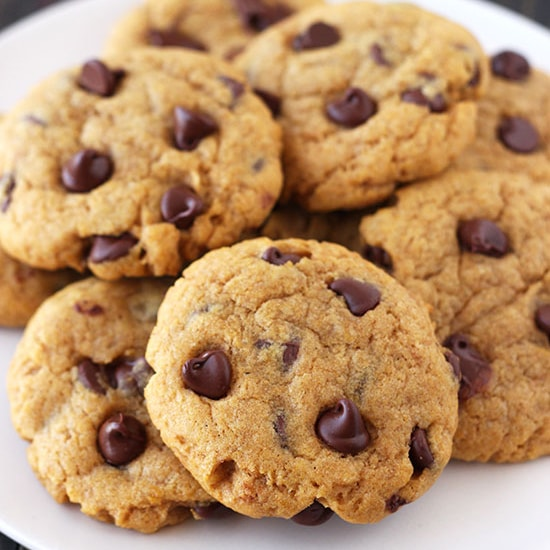 Pumpkin Chocolate Chip Cookies - Handle the Heat