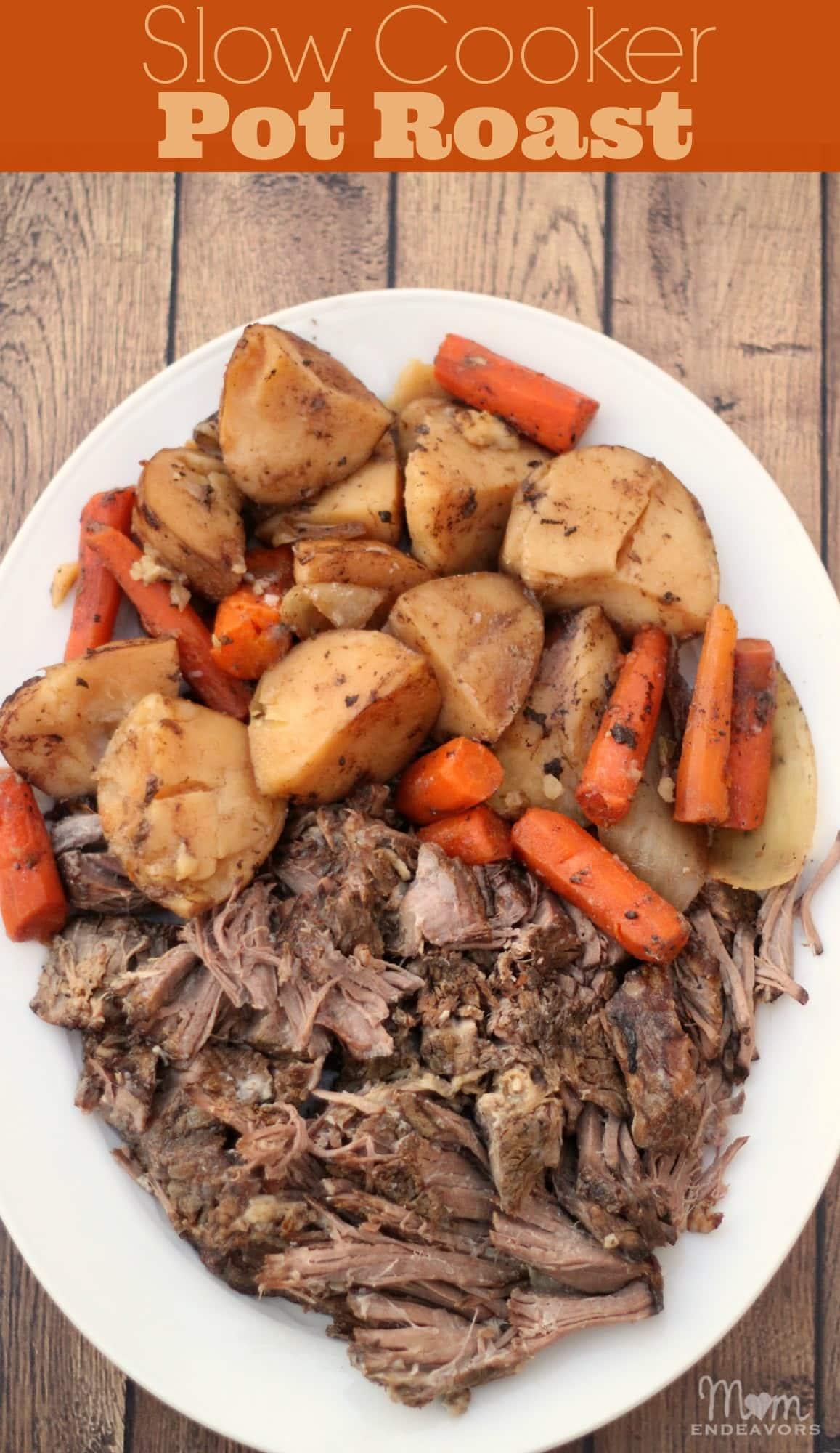 Slow Cooker Pot Roast with Vegetables