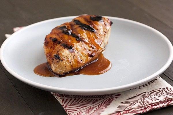 brown sugar citrus grilled chicken