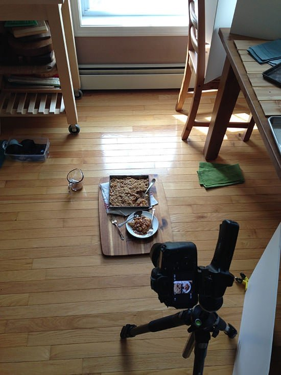 Food Photography Behind the Scenes with Baked by Rachel
