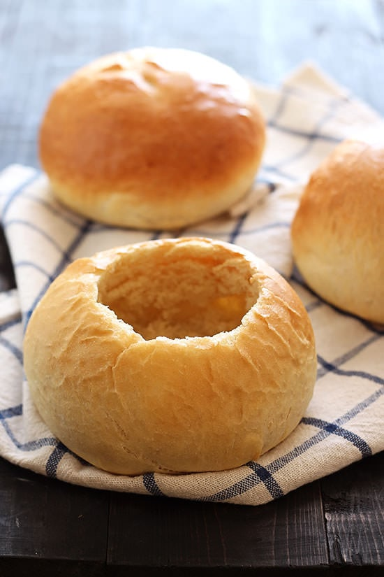 Homemade Bread Bowls - Handle the Heat