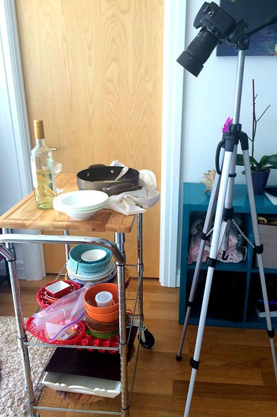 Food Photography Behind the Scenes with Fifteen Spatulas