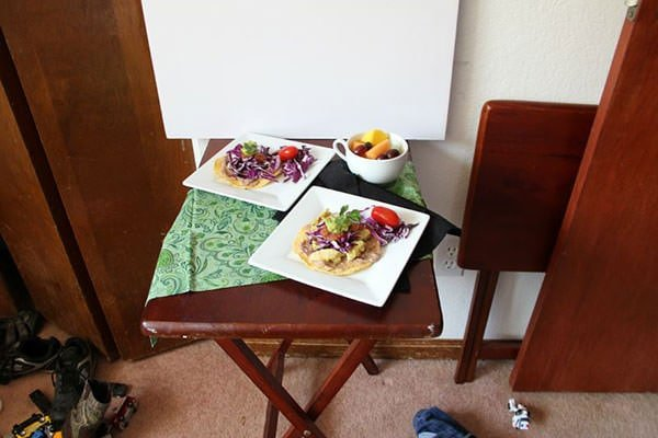 Food Photography Behind the Scenes with Around my Family Table