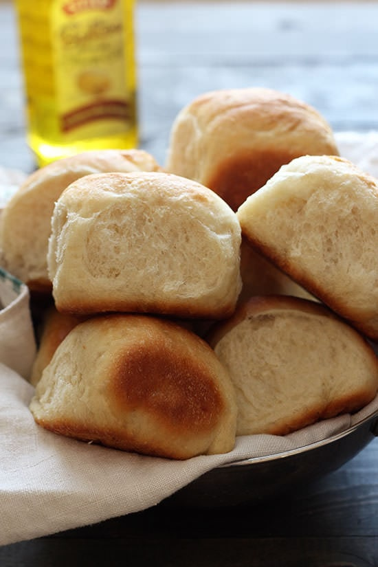Vegan Butter Rolls - you won't miss the butter or dairy at all!! No one will know it's vegan!