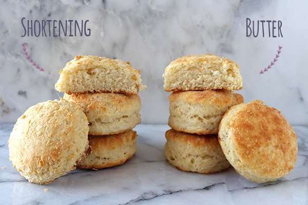 How to Make Biscuits Butter vs. Shortening