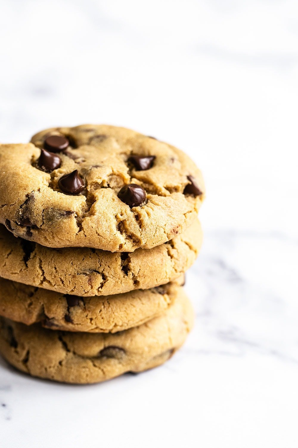 Easy chewy Peanut Butter Chocolate Chip Cookie recipe