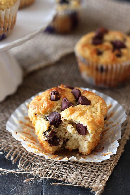 Ultimate Muffin Recipe - Chocolate Chip Variation! Totally customizable.
