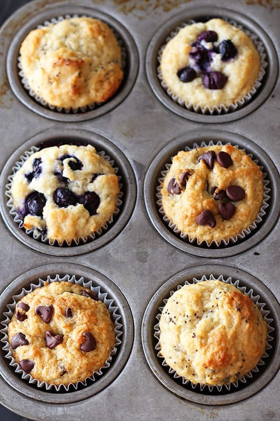 This is THE ULTIMATE muffin recipe! My go-to! Totally customizable, add whatever you want.