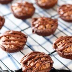 Chocolate Pecan Tassies