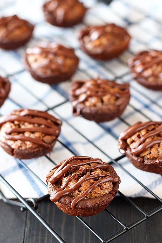 Chocolate Pecan Tassies are perfect for holiday baking!