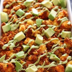 Southwest Cornbread Chorizo Stuffing with Avocado