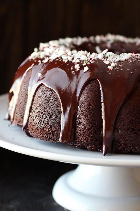 Peppermint Mocha Bundt Cake Handle The Heat