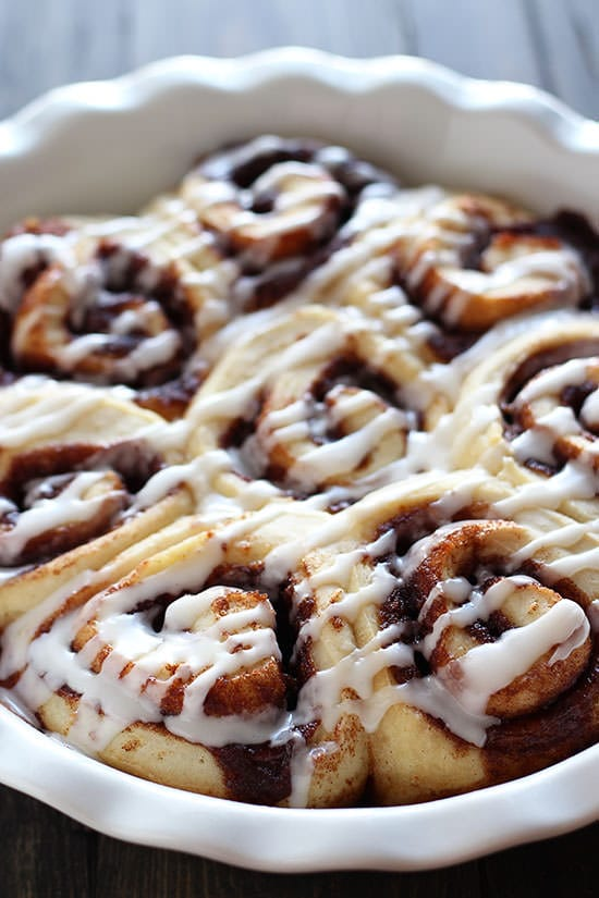 ... quick and easy. Who needs canned cinnamon rolls when you can have