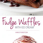 My boyfriend said these were the BEST waffles he's ever eaten!! They're so easy and SO GOOD.