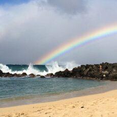 Maui Baldwin Beach Rainbow
