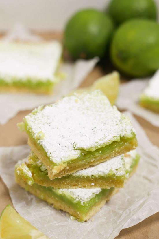 lime bars, dessert bars, dessert